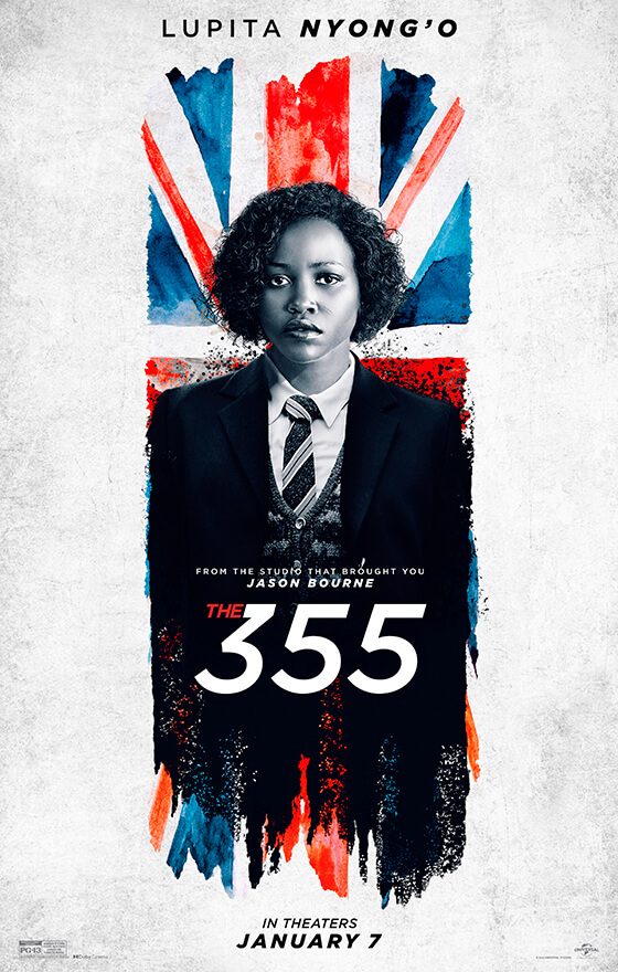 The 355 offical poster