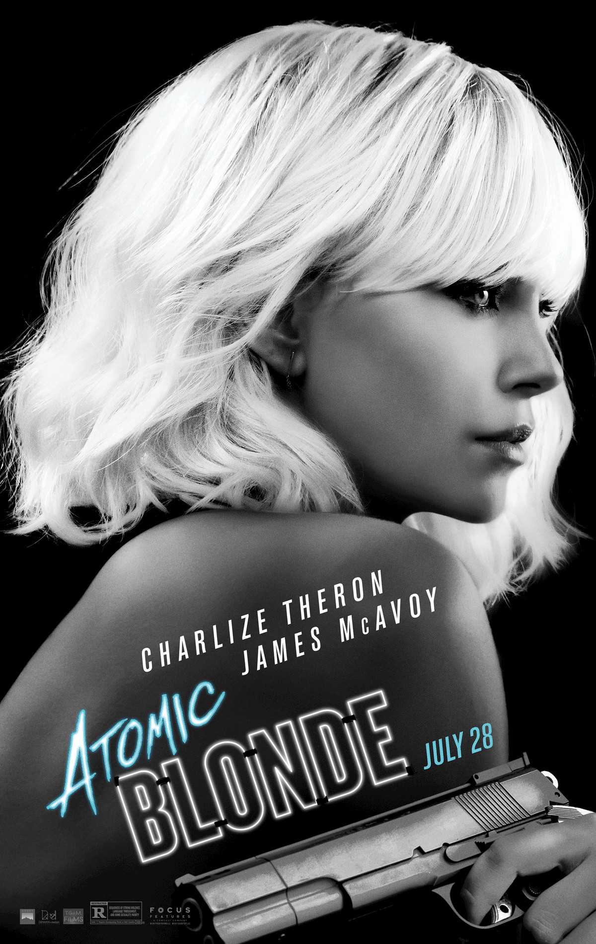 Atomic Blonde offical poster