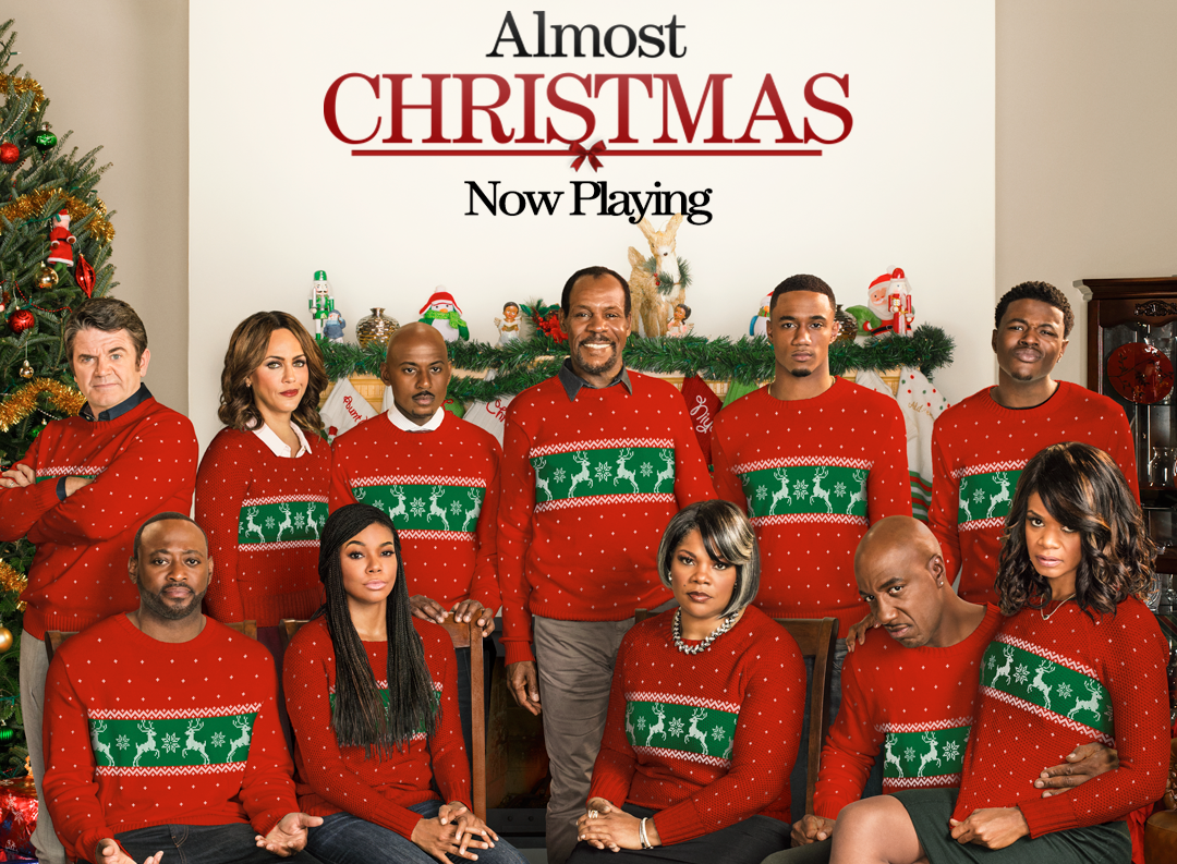 Almost Christmas Jessie Usher.Almost Christmas Universal Pictures