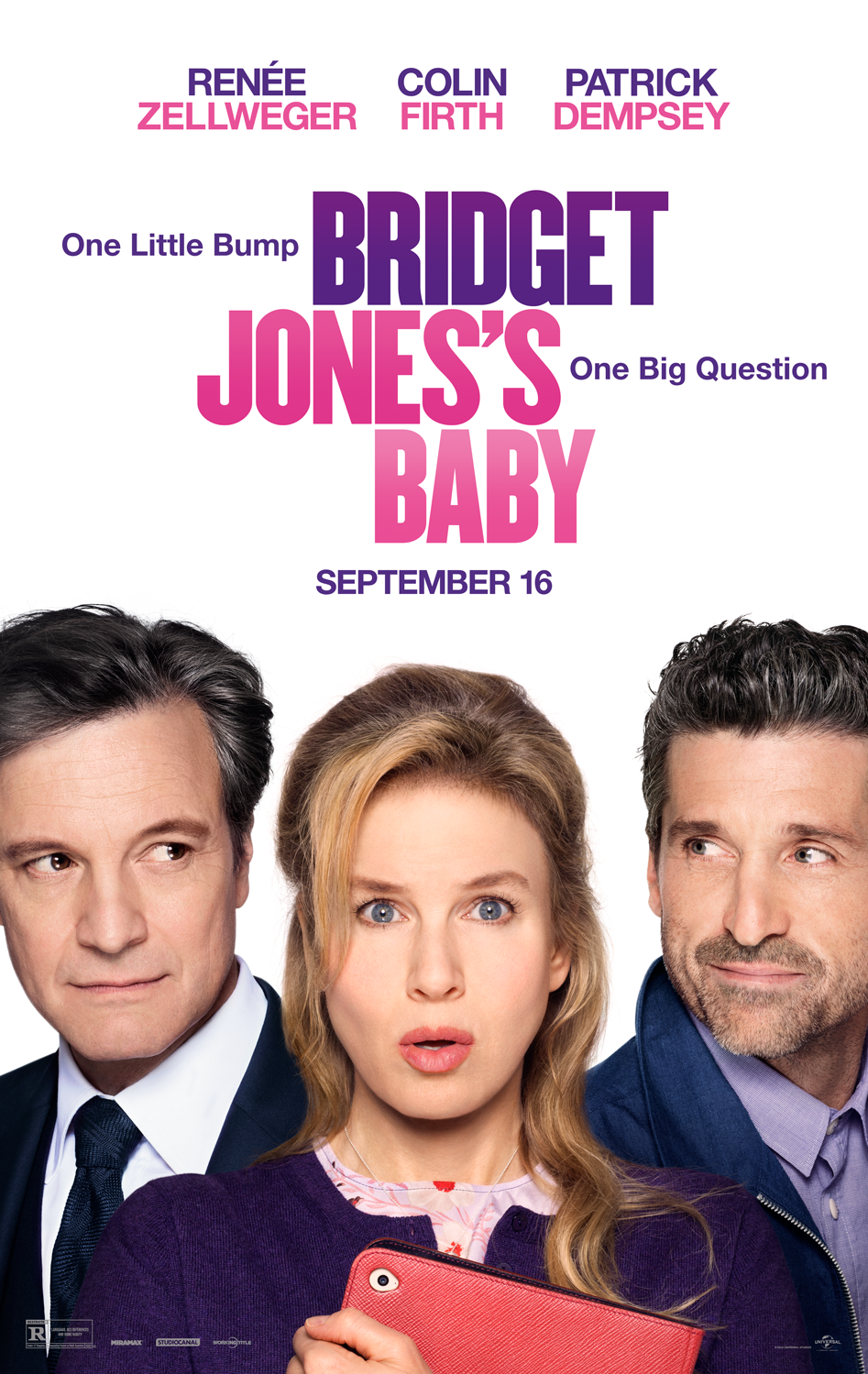 Image result for bridget jones baby poster