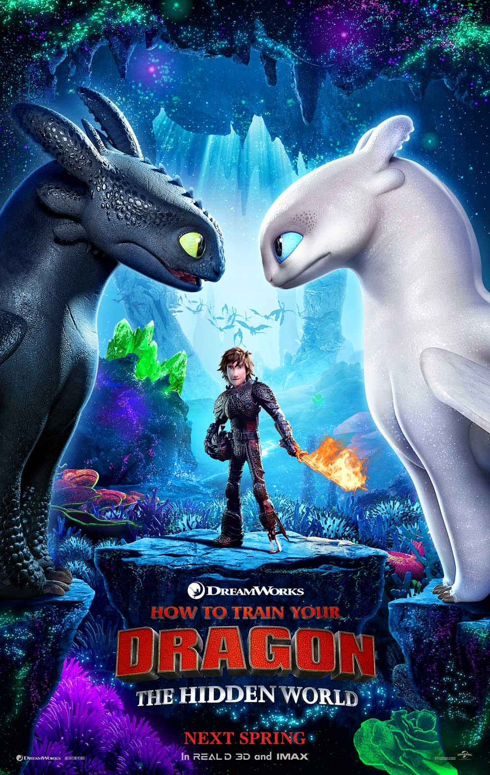 How to Train Your Dragon: The Hidden World offical poster