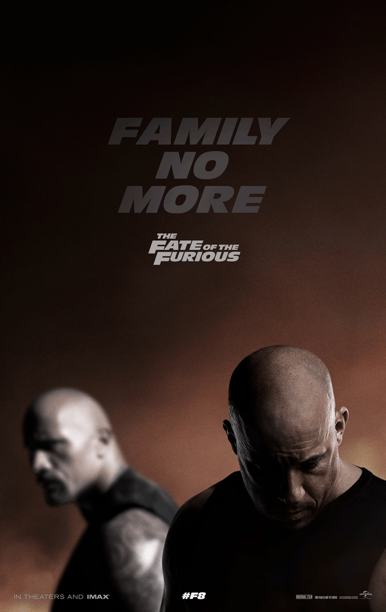 The Fate of the Furious offical poster