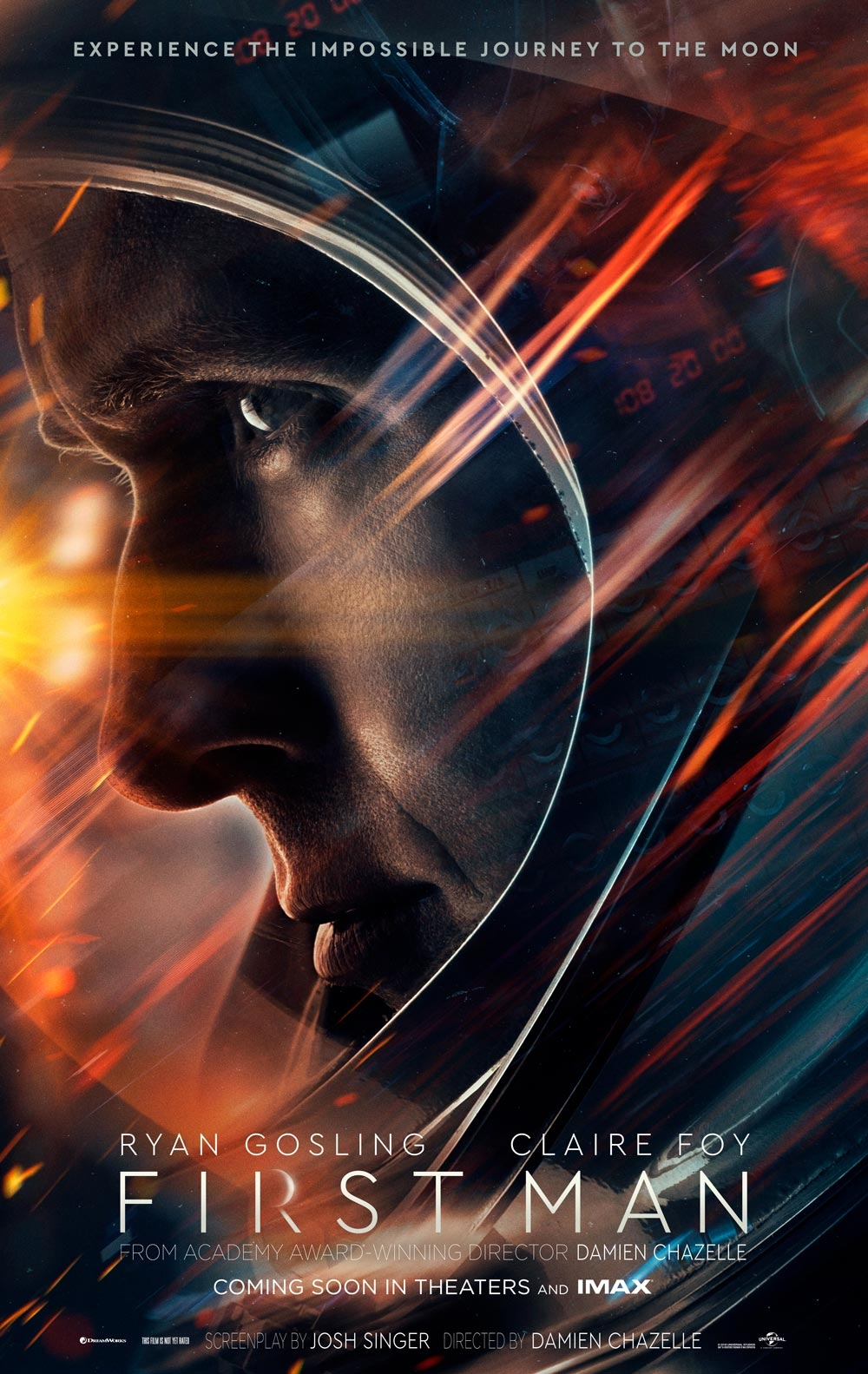 First Man offical poster