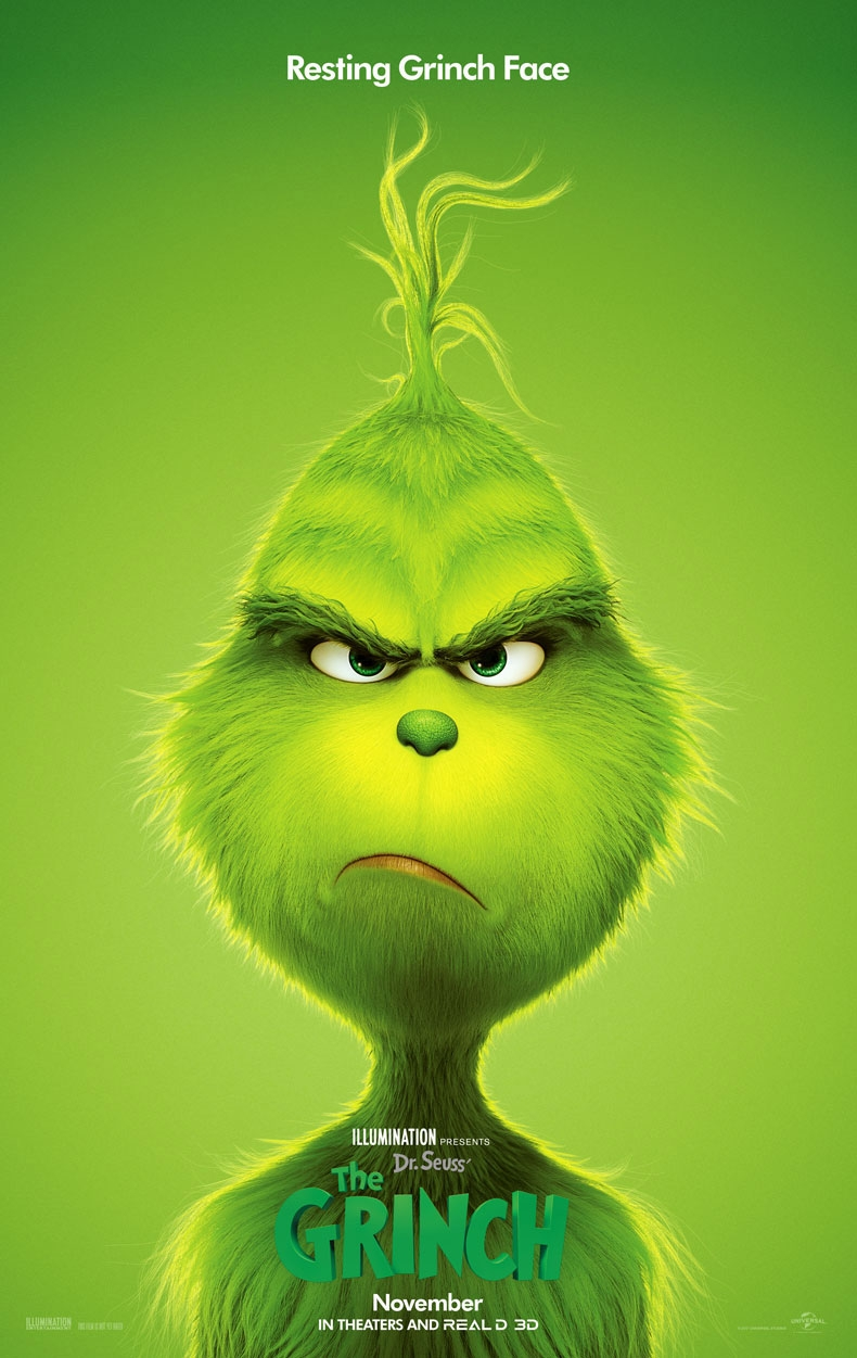 dr seuss the grinch posters universal pictures