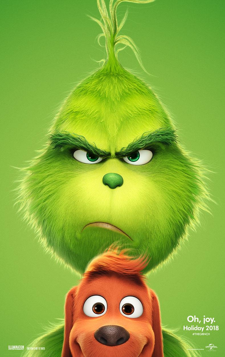 Dr. Seuss' The Grinch offical poster