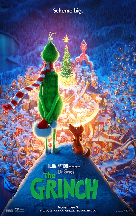 Dr. Seuss' The Grinch - Poster 1