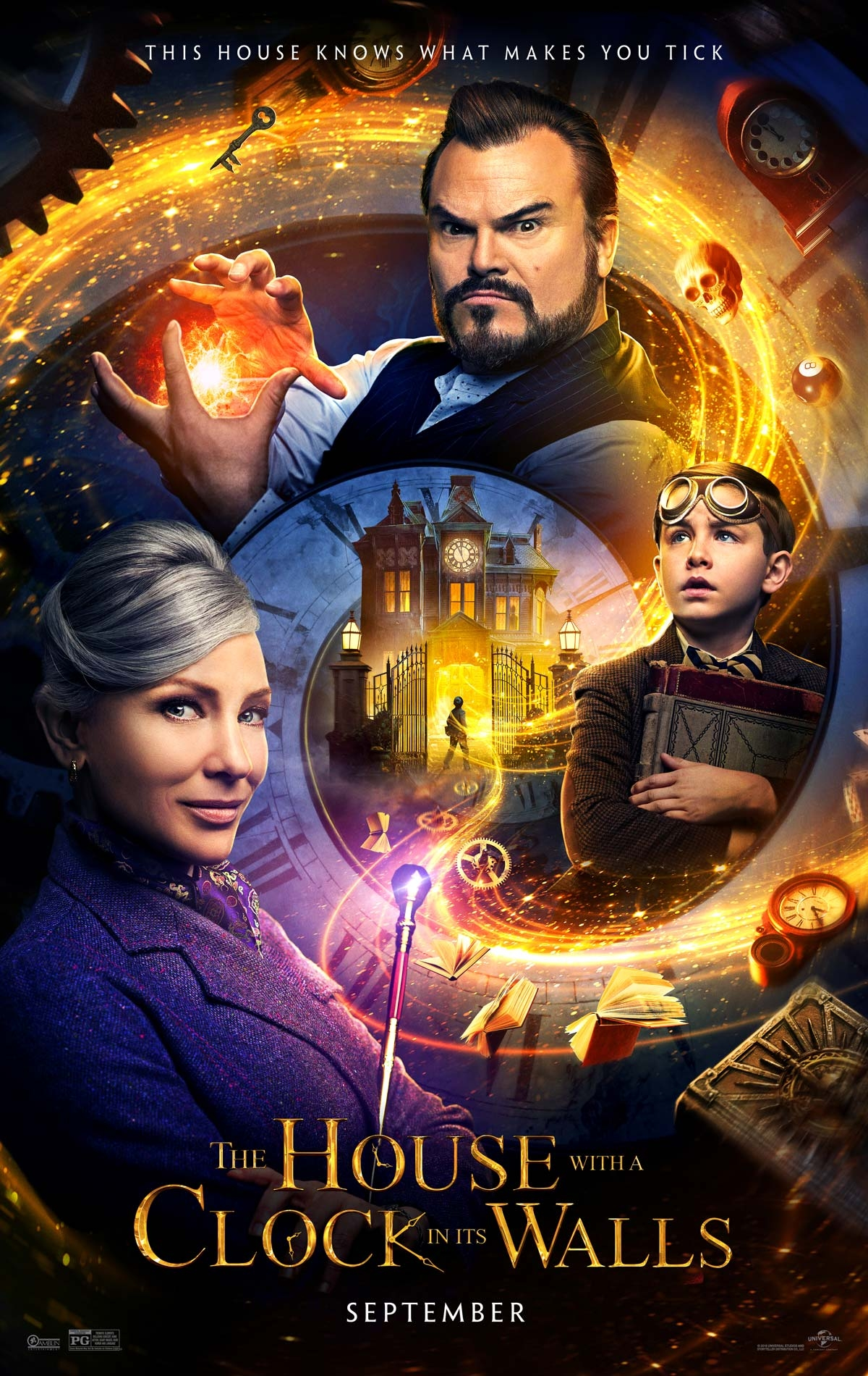 The House with a Clock in Its Walls - Poster 1