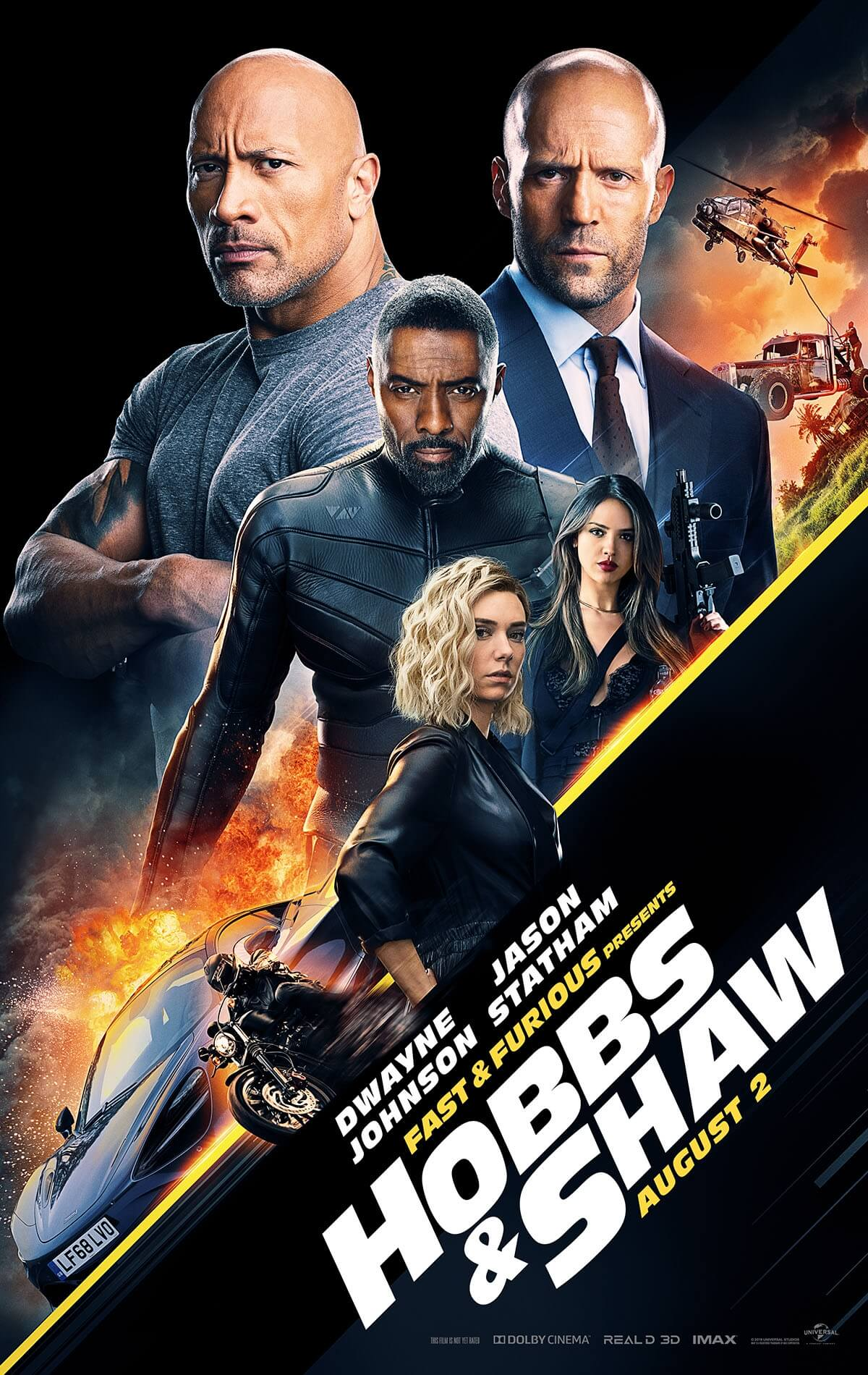 Fast Furious Presents Hobbs Shaw Posters Universal