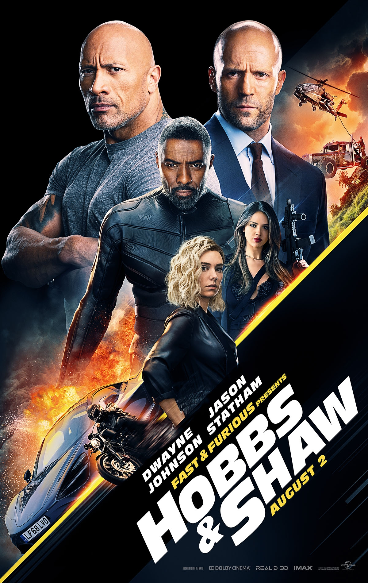 Fast & Furious Presents: Hobbs & Shaw - Poster 2