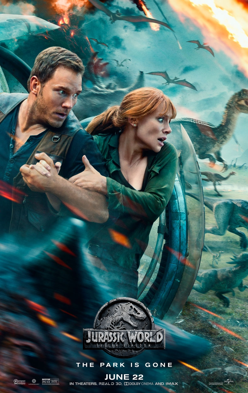 Jurassic World: Fallen Kingdom offical poster