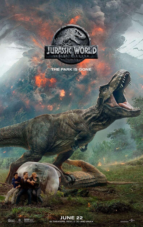 Jurassic World: Fallen Kingdom offical poster