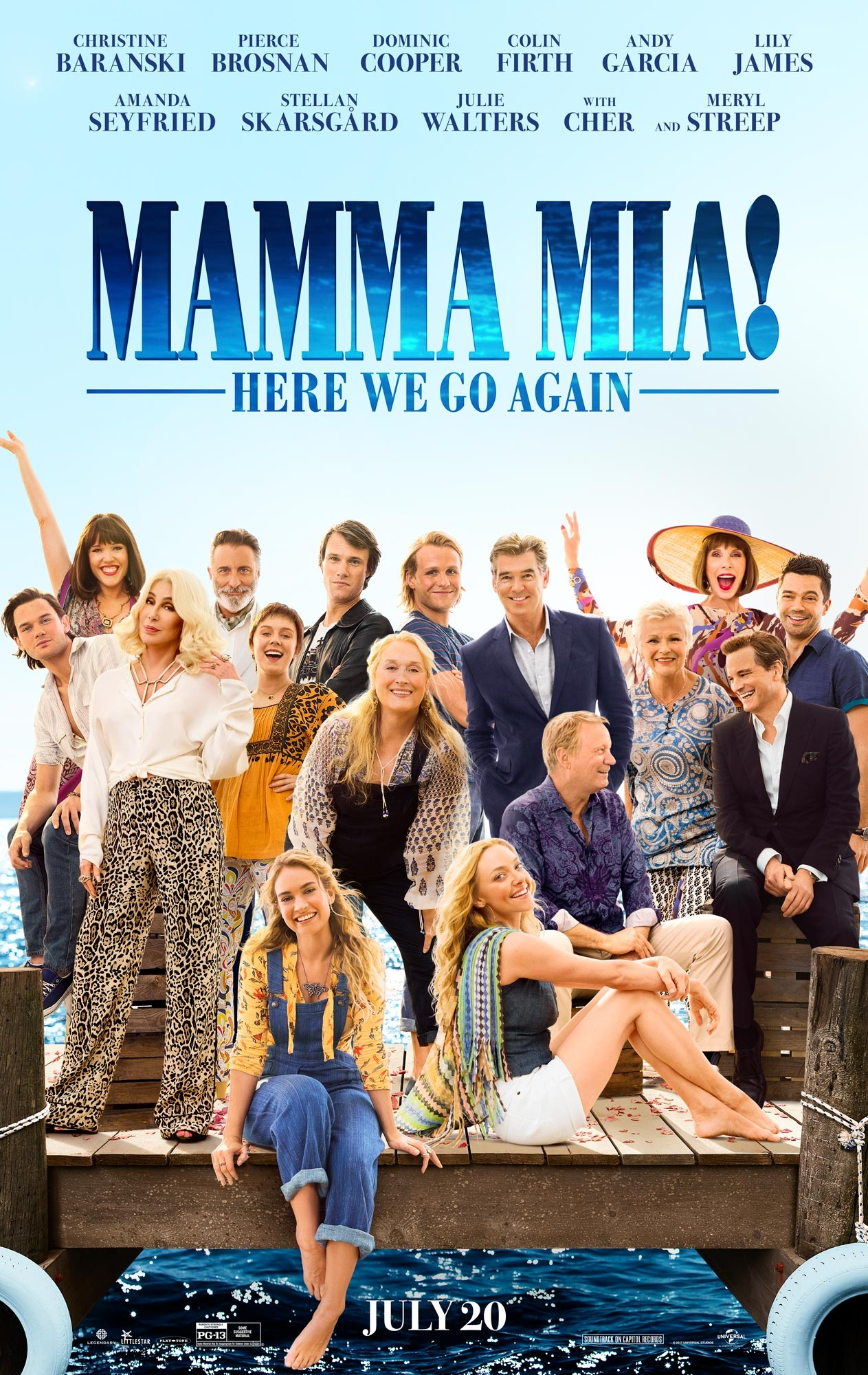 Mamma Mia! Here We Go Again - Poster 1