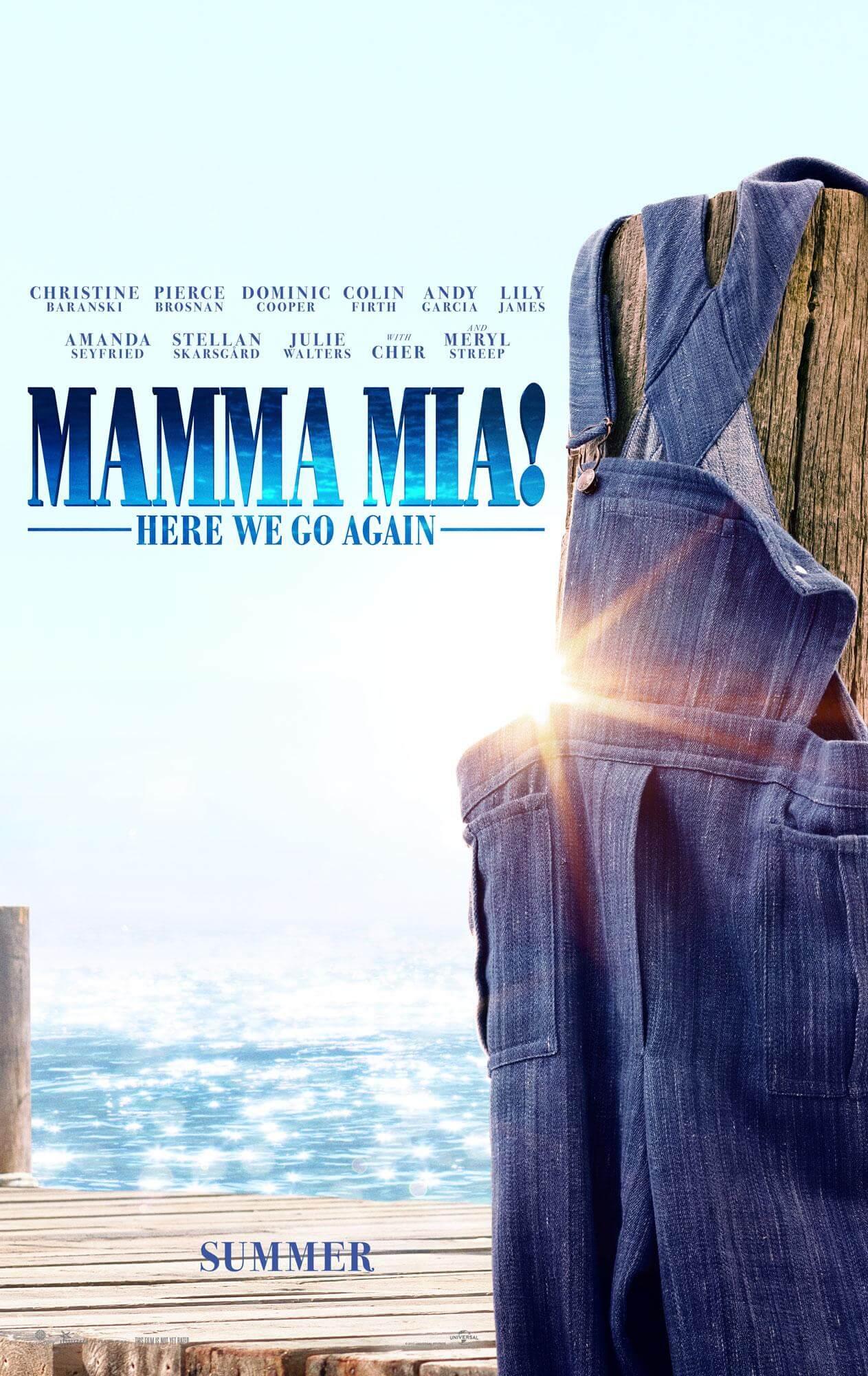 Mamma Mia! Here We Go Again - Poster 2