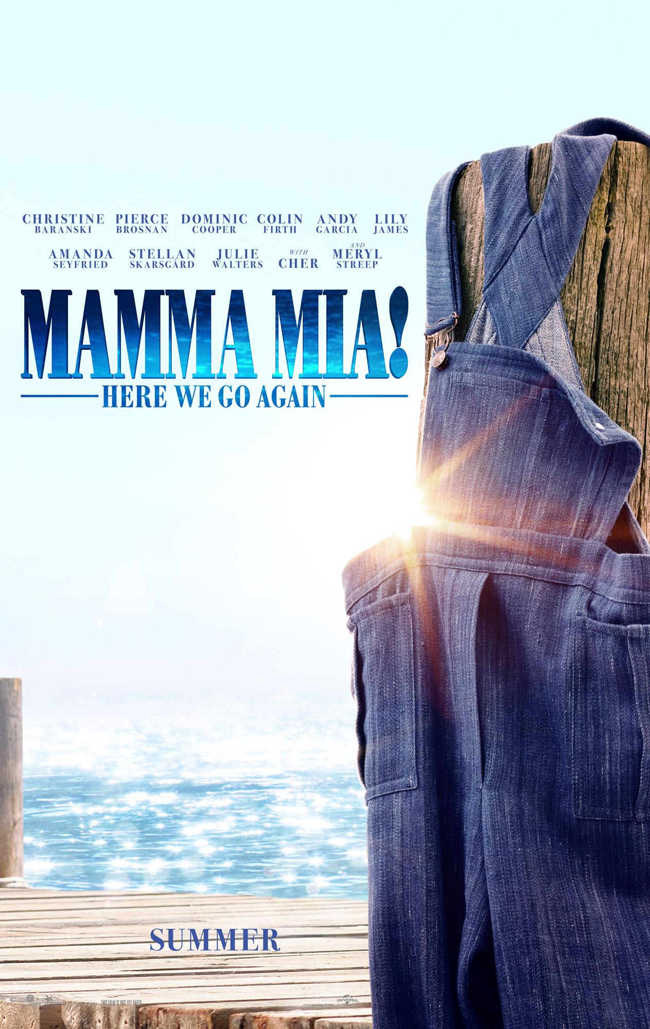 Mamma Mia! Here We Go Again offical poster