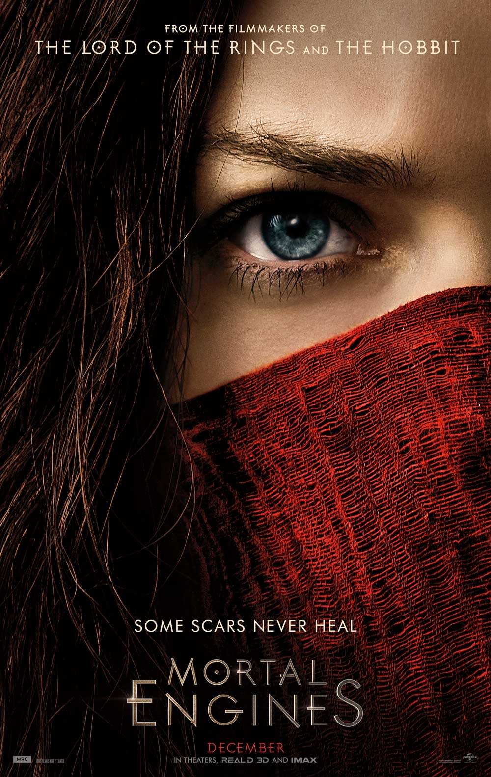 Mortal Engines offical poster
