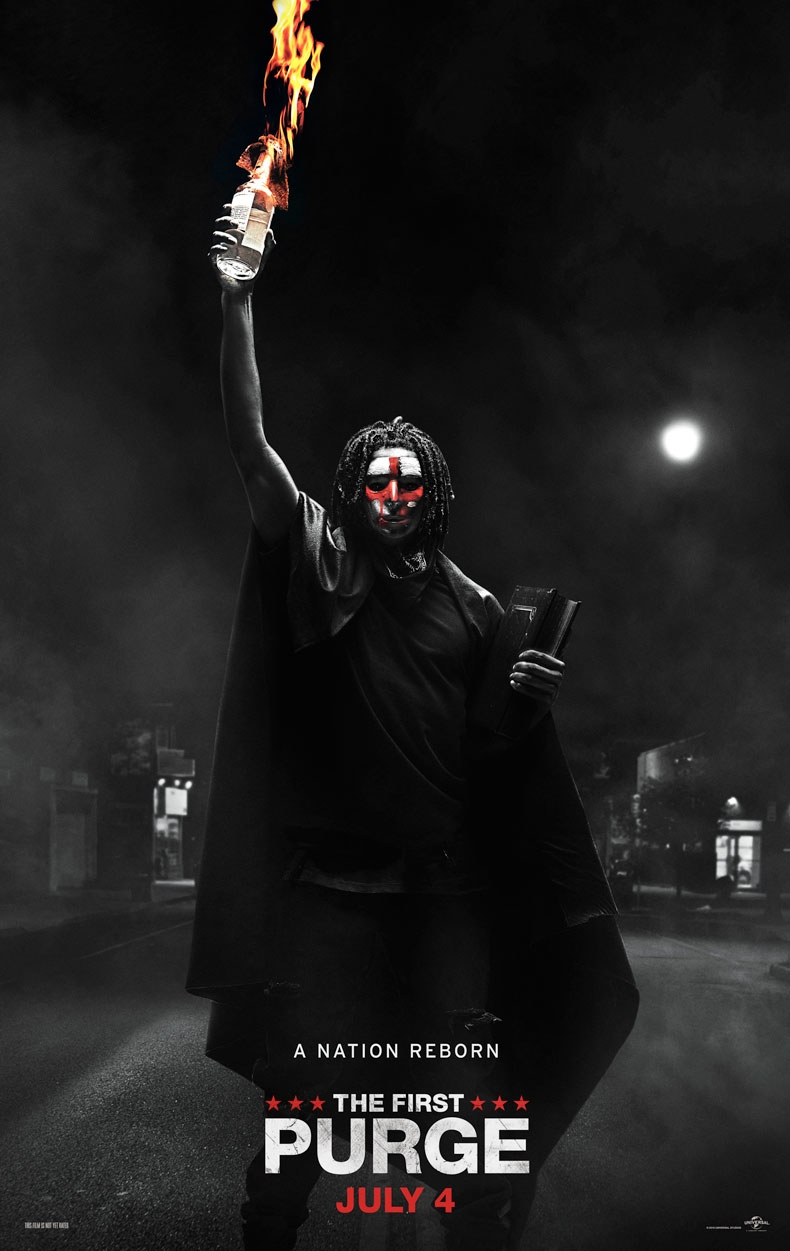 The First Purge offical poster