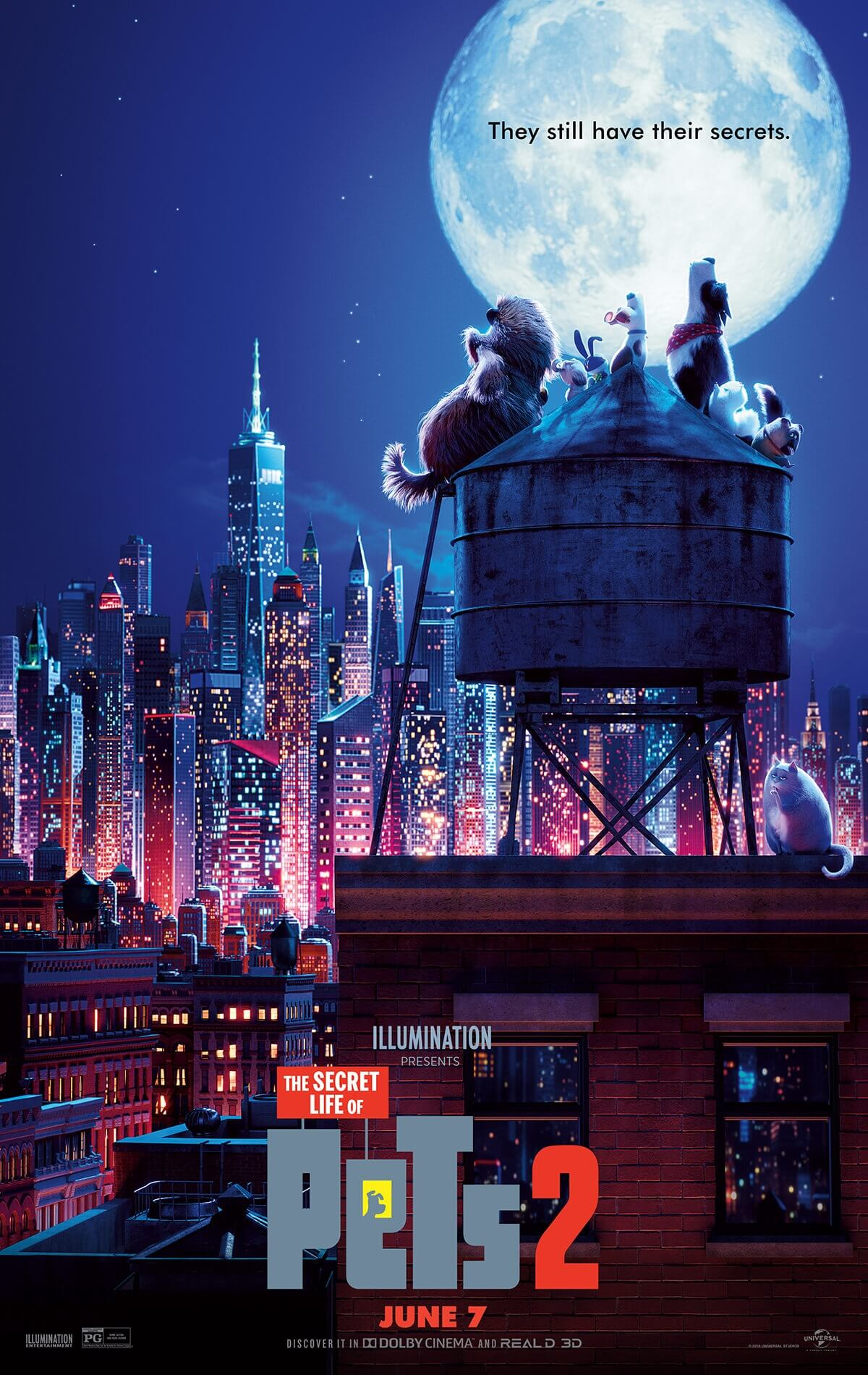 The Secret Life of Pets 2 offical poster