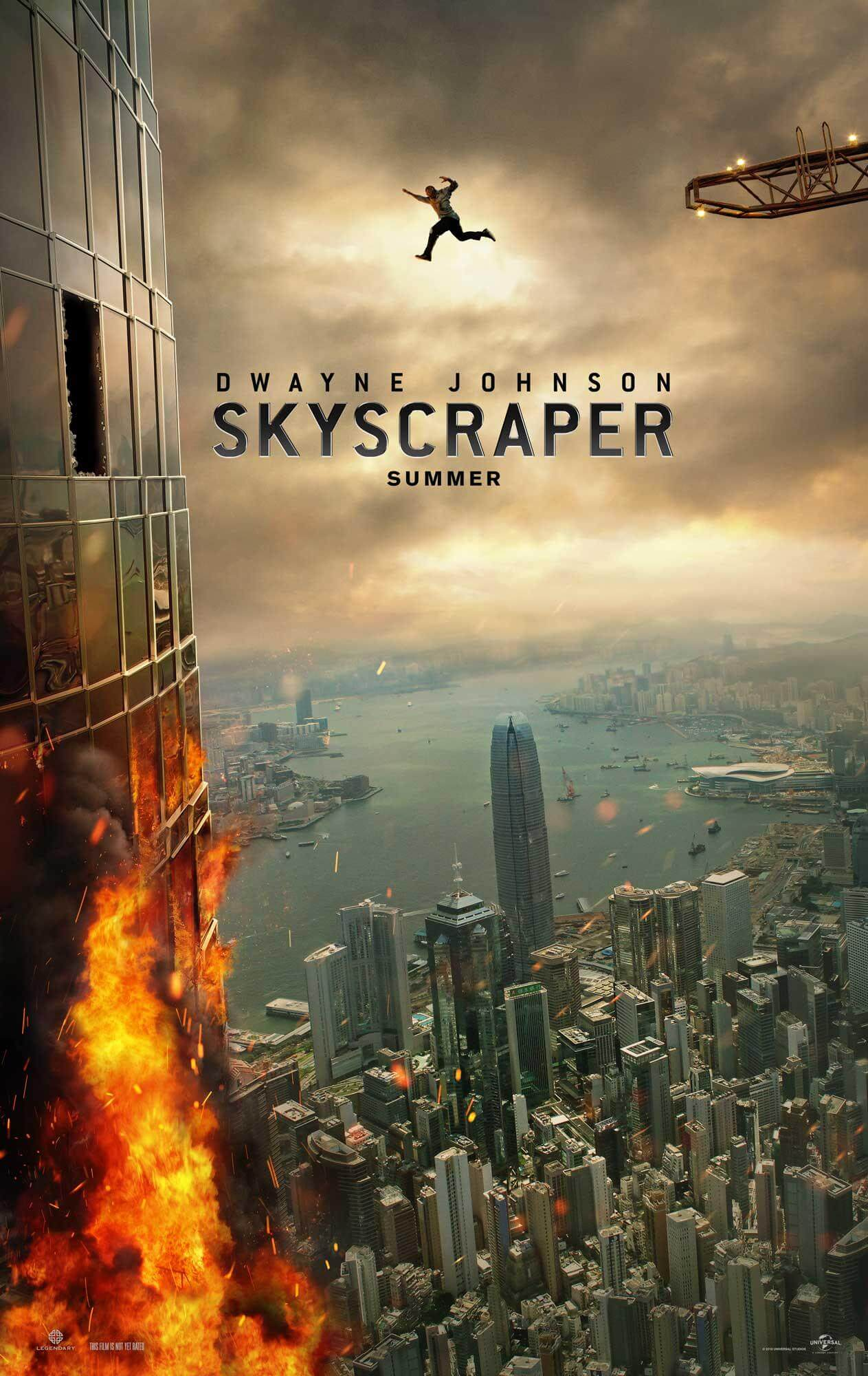 Skyscraper offical poster