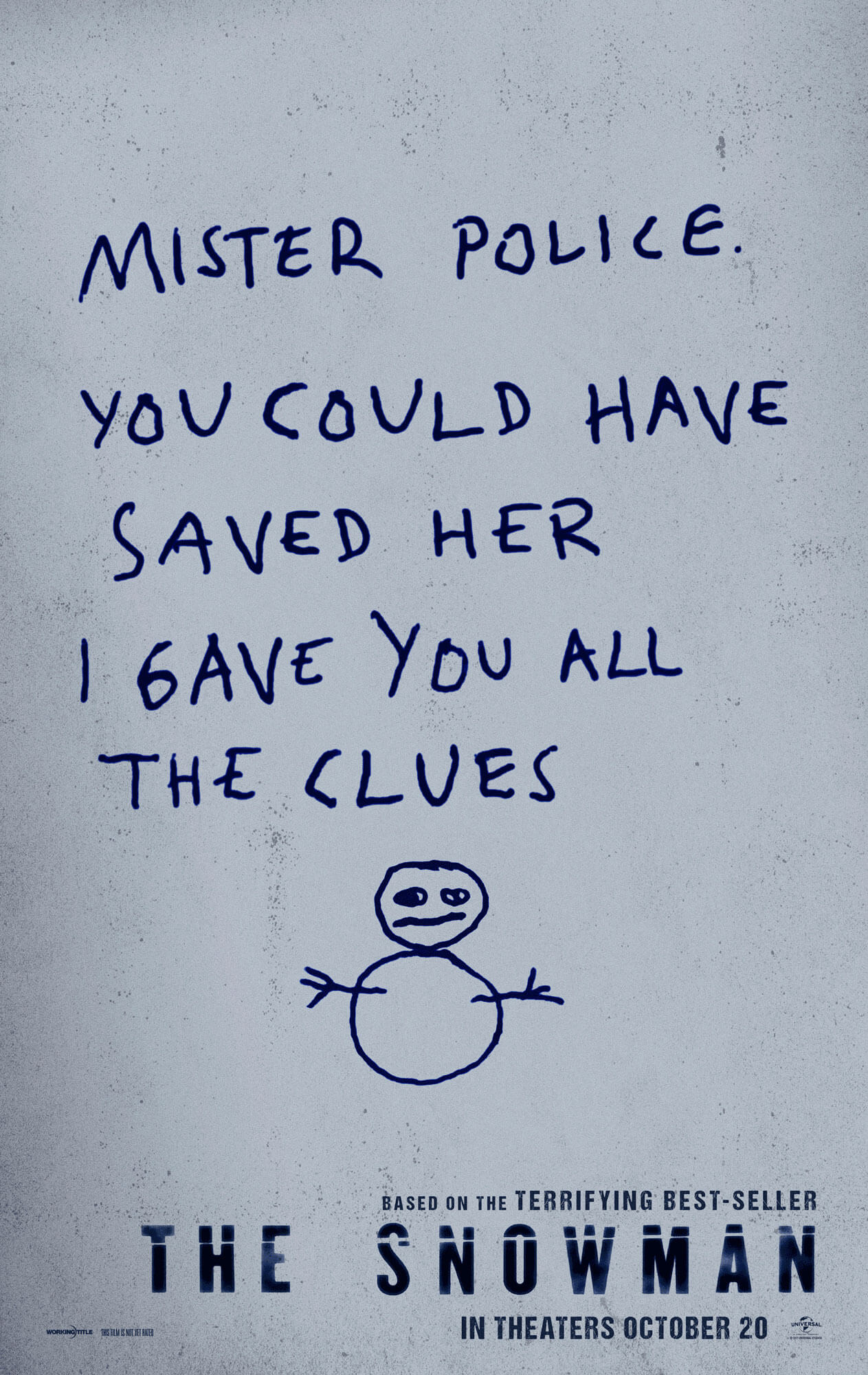The Snowman offical poster