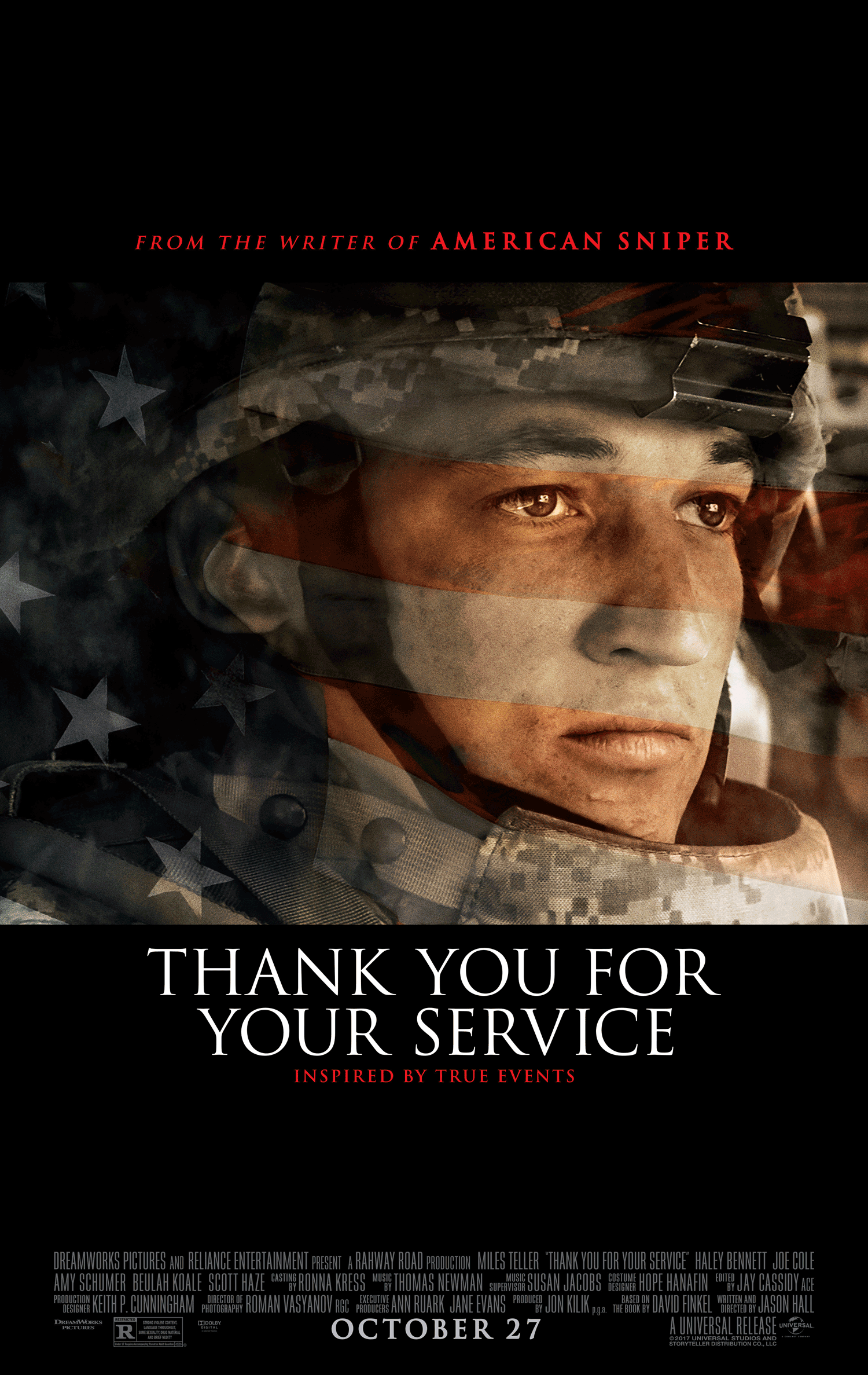 Thank You for Your Service - Poster 1