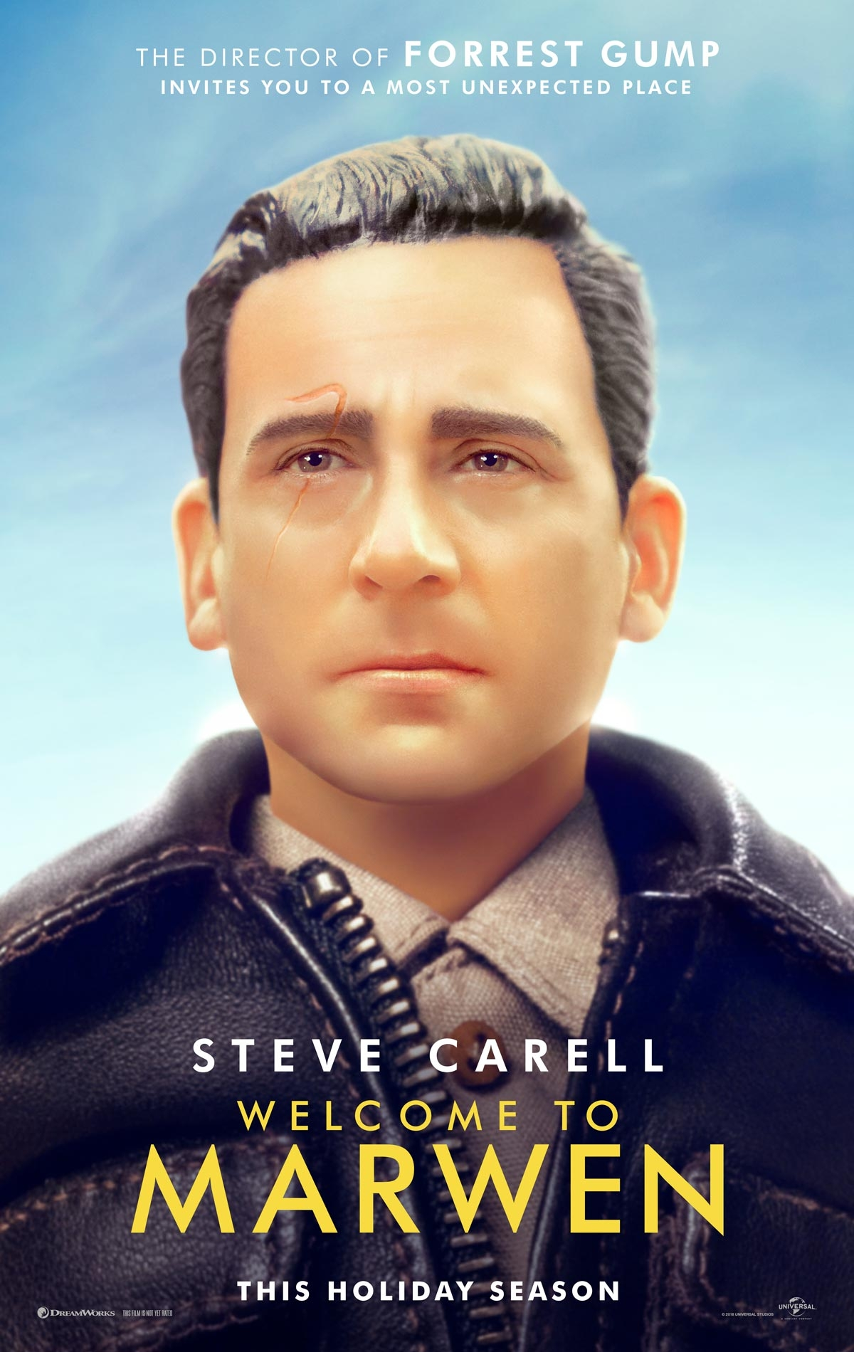 Welcome to Marwen offical poster